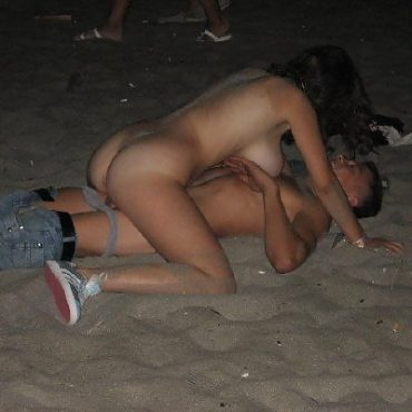 Geil am Strand dicke Titten