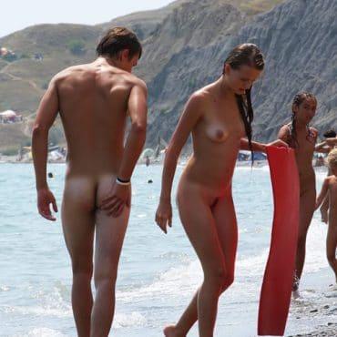 Spanner Bilder am Beach