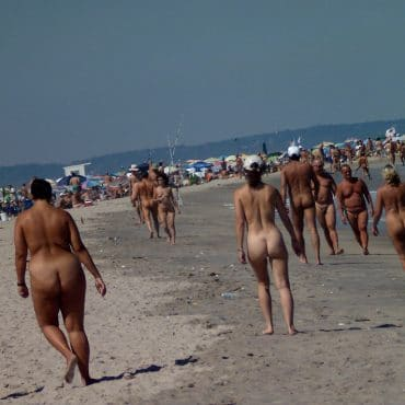 Spanner Bilder an dem Strand