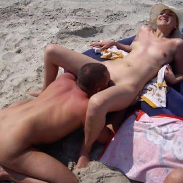 Strandsex lecken