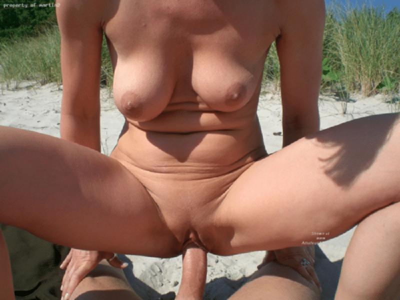 Geiler strandsex