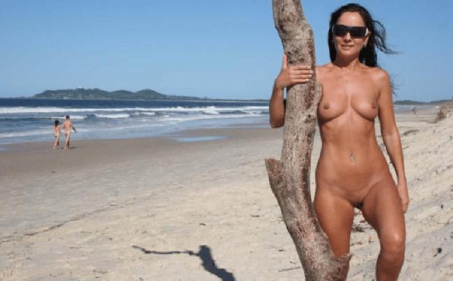 Votze am strand