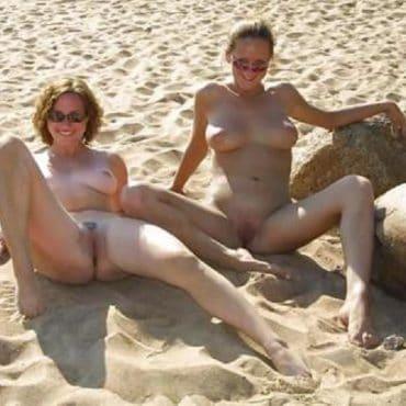 Nackt Strand