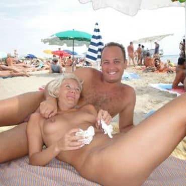 Nackt Strand Heteros