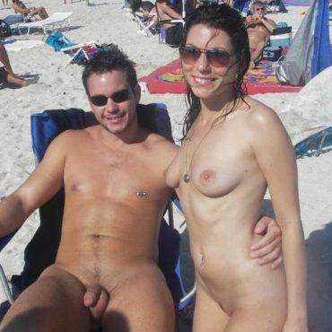 Beach Girl und Schwanz