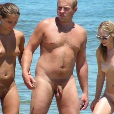 Nackt in der Öffentlichkeit Typ