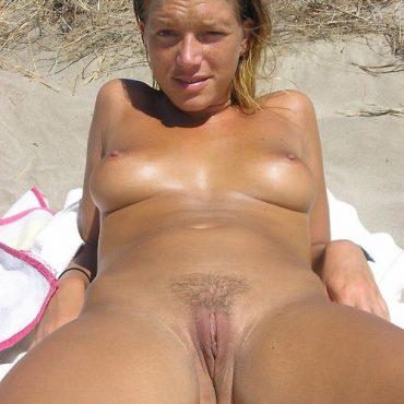 Teen Nackt am Strand