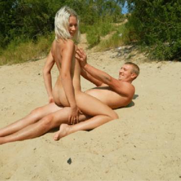 öffentlicher Strandsex