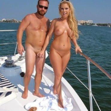Strand Pornos auf dem Boot