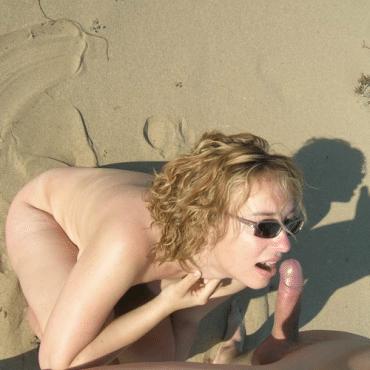 Blasen am Strand geile mIlf