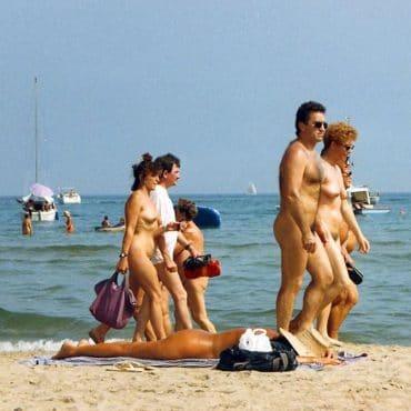 Heimliche Fotos Nacktbadestrand