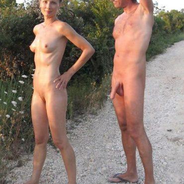 Nacktbadestrand Pärchen