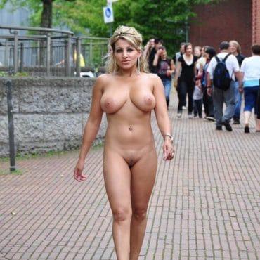 Nacktwandern dicke Dinger