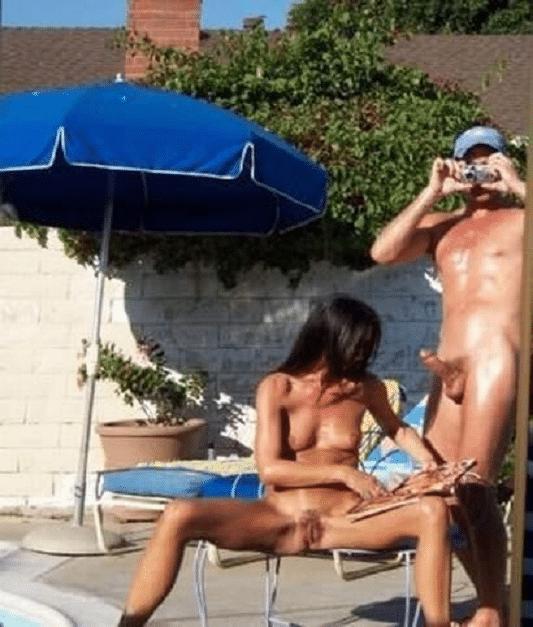 Swinger nackt am strand