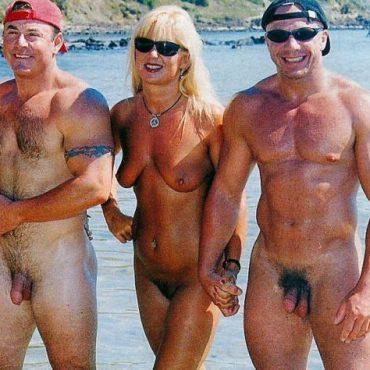 Alte Spanner am Strand