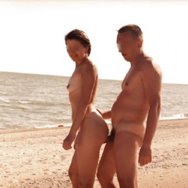 Strand XXX im stehen
