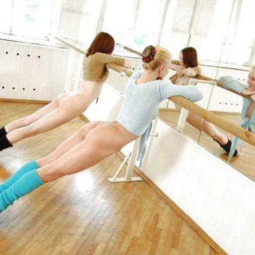 Nacktgymnastik Ärsche