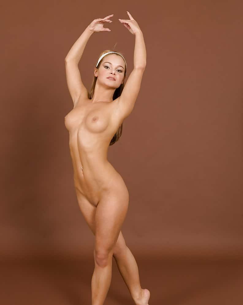 Gymnastik Nackt