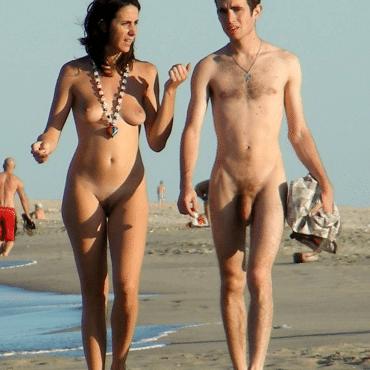 Dünne Nackte Menschen