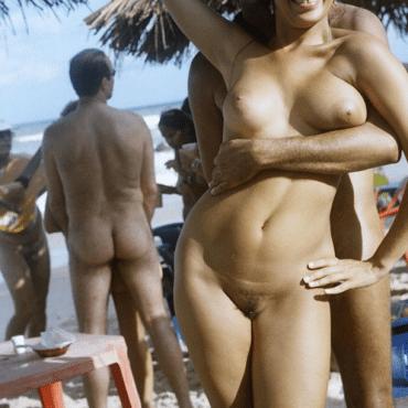 Private Nackte Menschen