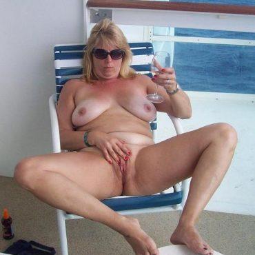 Sex auf dem Boot anfassen