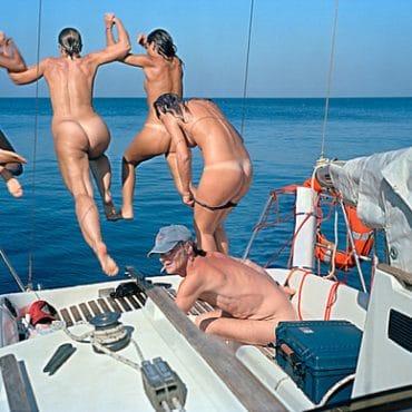 Sex auf dem Boot ficken