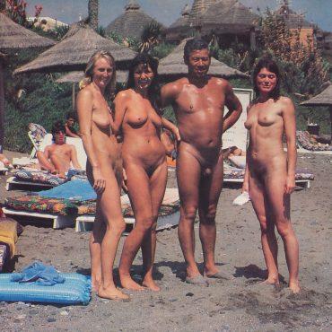 Vintage Nackte Menschen