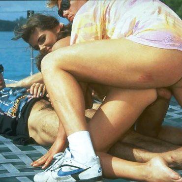Vintage Sex auf dem Boot
