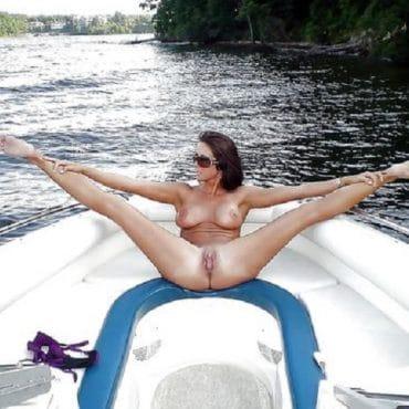 Sex Schiff Beine breit