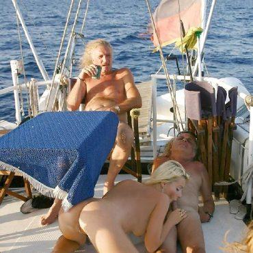 Sex Schiff erwischts