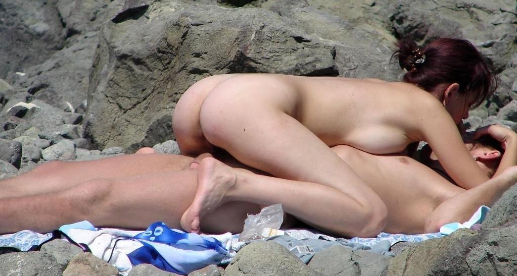 Sex am fkk strand