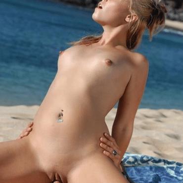 Frischer Strand Porn