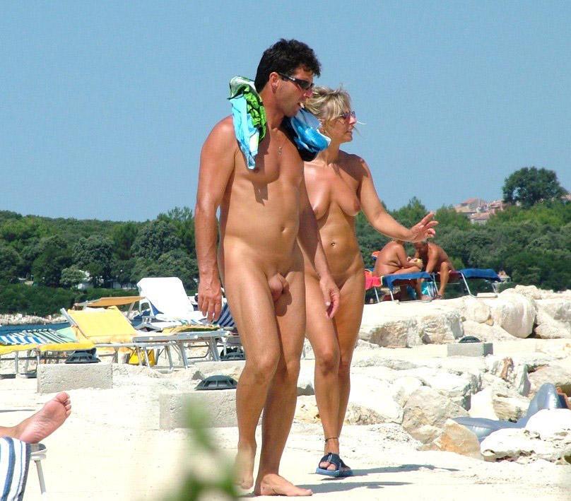 Vojeur Am Strand