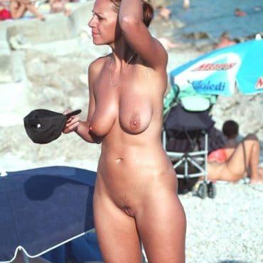 HängeTitten am Strand