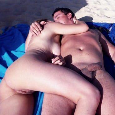 Paar Sex am FKK