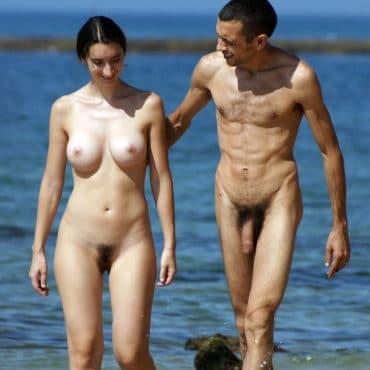 Titten am Strand