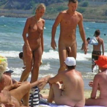 Geiler Strand Voyeur