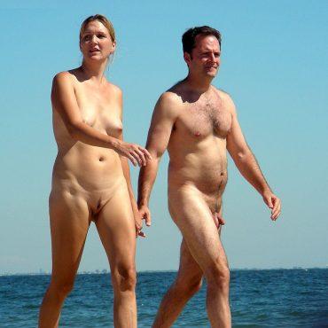 Strand Voyeur Paar