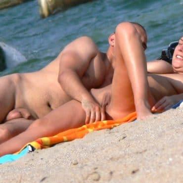 Strand Voyeur Titten