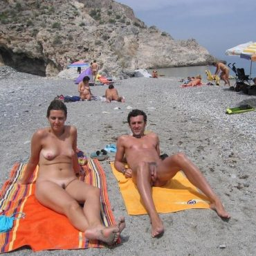 Strand Voyeur sonnen