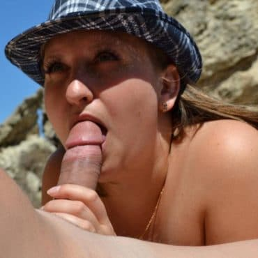 Blowjob mit Hut