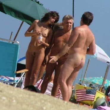 Sexy Nackt am Strand