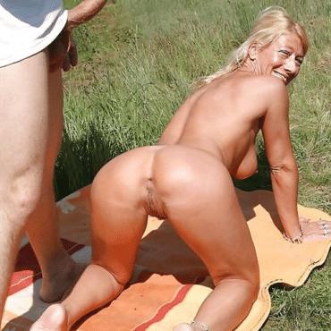 Bumsen am Strand