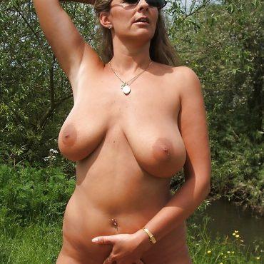 Milf Sex im Wald