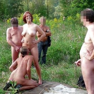 Sex im Wald Swingerparty