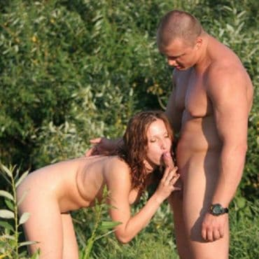 Teen Sex im Wald