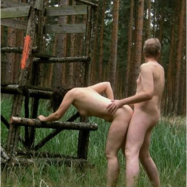 Outdoor Sex auf der Wiese