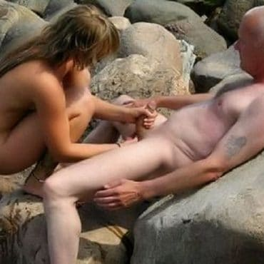 Outdoor Sex fummeln