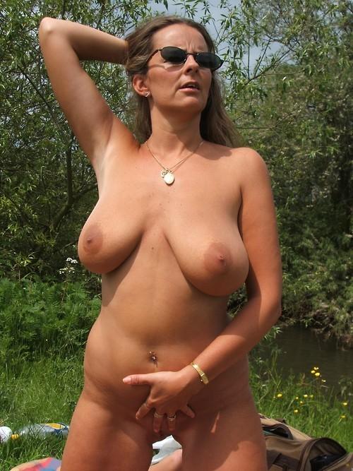 Bilder wald oma im nackt Nackt nach