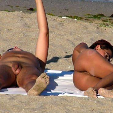 Heftige Nudist Bilder